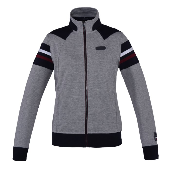 Aspe Unisex Sweat jacket - Light Grey