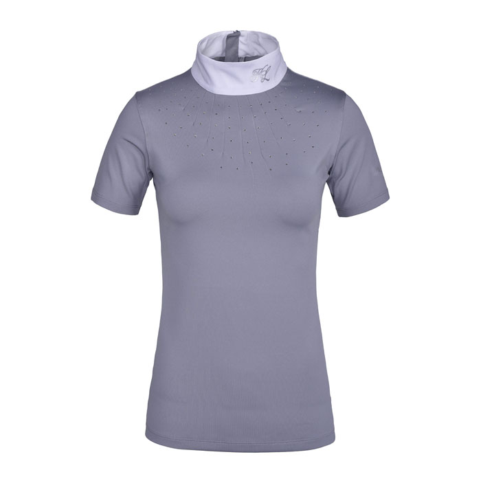 Kingsland Janna Ladies Show Shirt - Grey Sleet