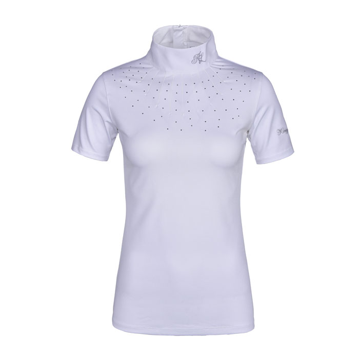 Kingsland Janna Ladies Show Shirt - White