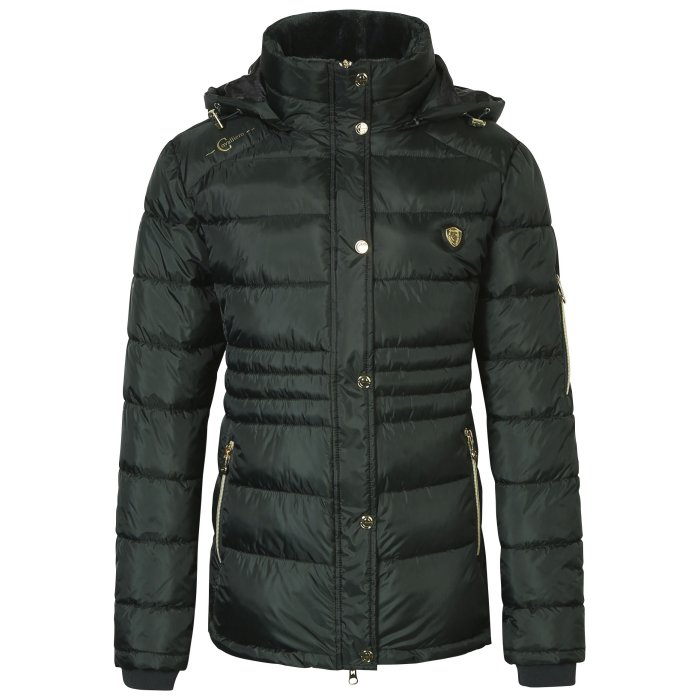 Covalliero Ladies Dark Green Short Jacket