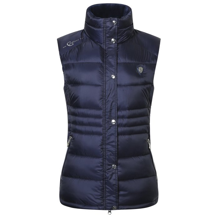 Covalliero Ladies Navy Bodywarmer