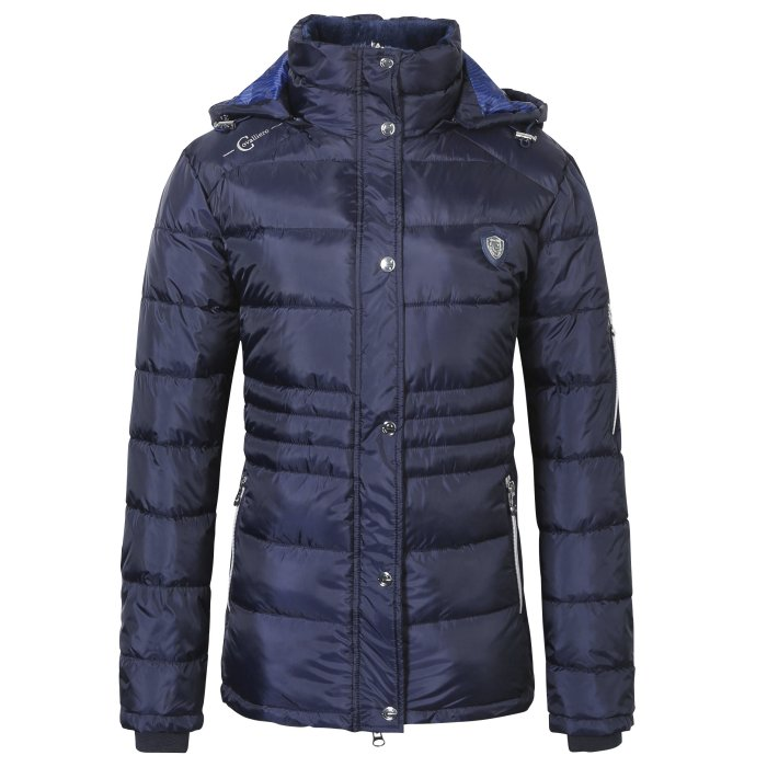 Covalliero Ladies Navy Short Jacket