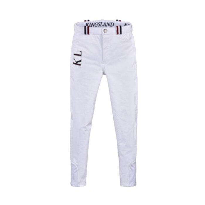 Kevin - Boys Breeches - White
