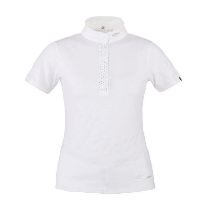 Casella - Ladies Show Shirt - White
