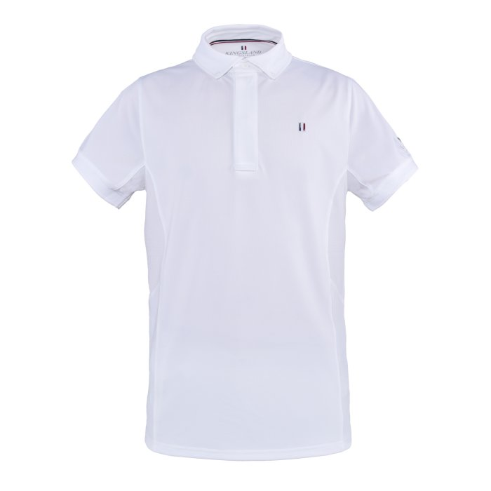 Kingsland Mens Classic Show Shirt - White