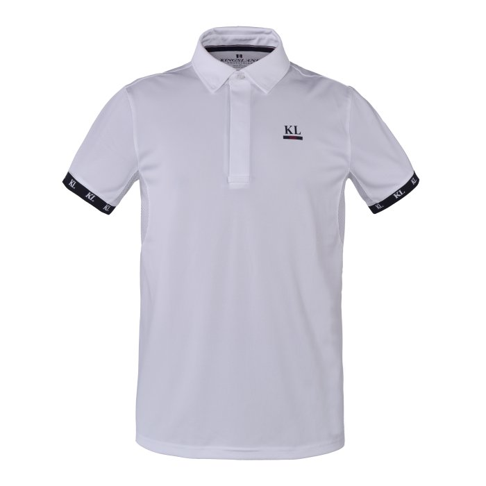 Kingsland Bornos Mens Show Shirt - White