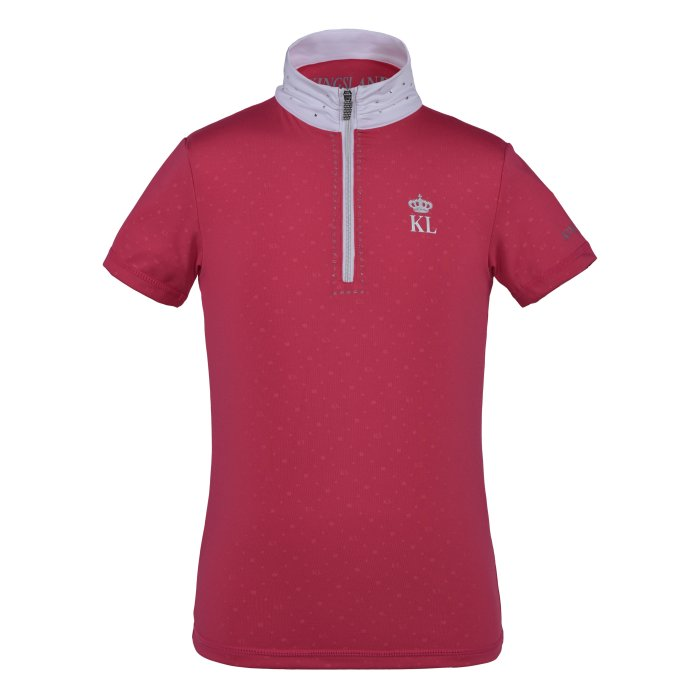 Kingsland Pinosa Girls - Show Shirt - Pink