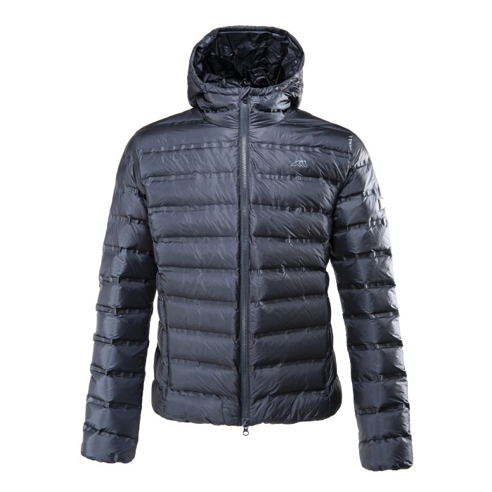 Equiline Mens Down Bomber - Navy