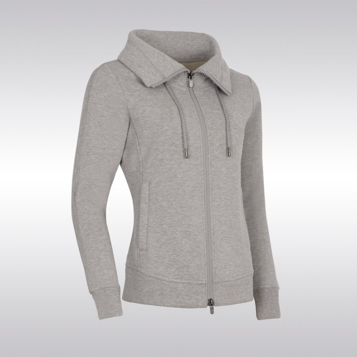 Samshield Ladies Sweatshirt Swarovski-Light Grey