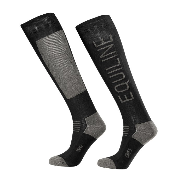 Equiline Show Socks - Black
